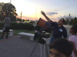 Dan Salkovitz at SMV Skywatch 2015