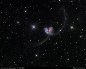 Antennae Galaxies, by Madhup Rathi