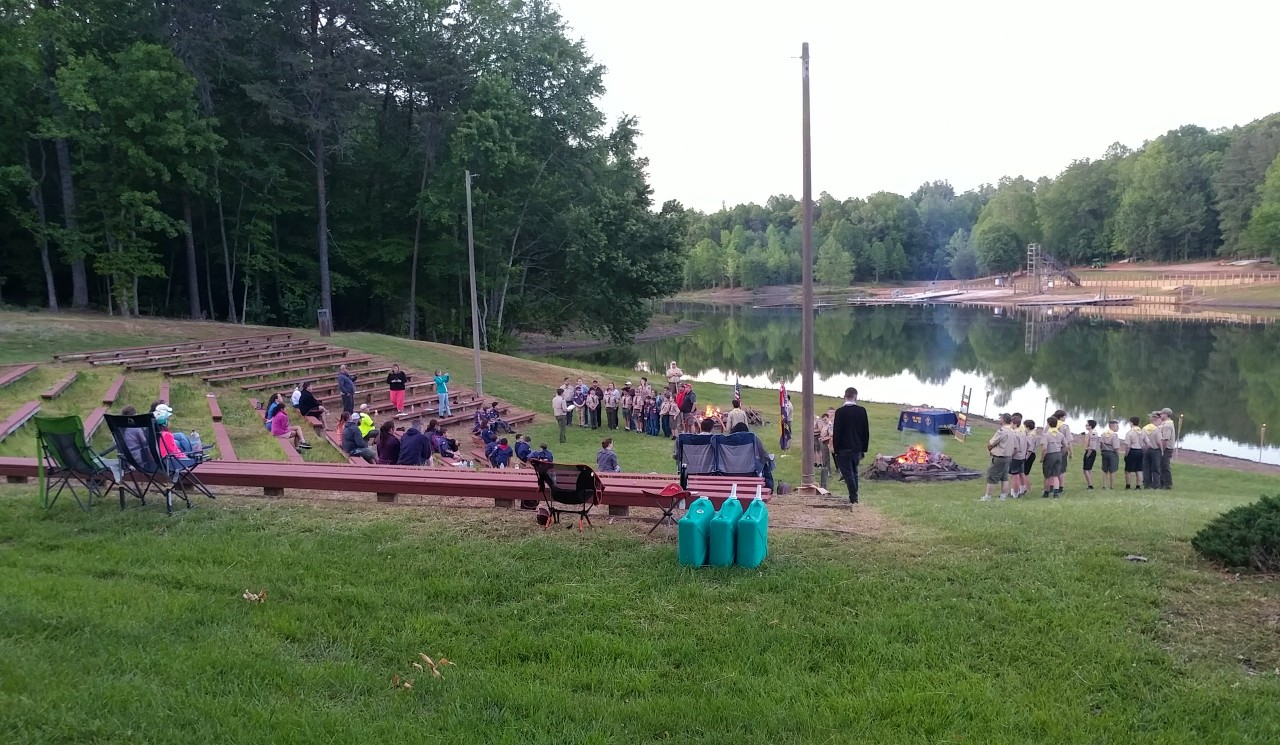 scouts skywatch at camp brady saunders in goochland